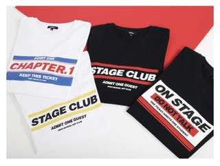 🇰🇷韓國SPAO stage club情侶tee