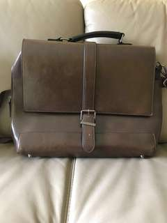 River Island Vintage Leather Brief
