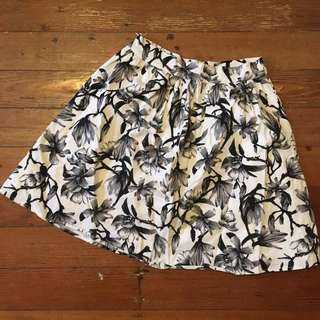 Dotti floral printed skirt