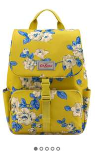 Island Bunch Buckle Yellow Floral Backpack
