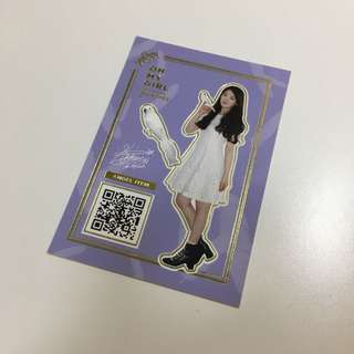 Oh My Girl Windy Day SeungHee小卡