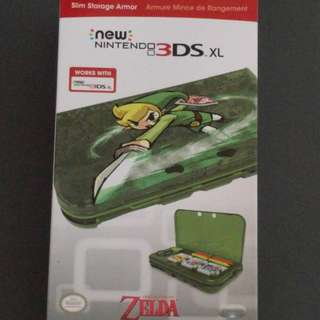 New Nintendo 3DS XL Zelda Storage Case