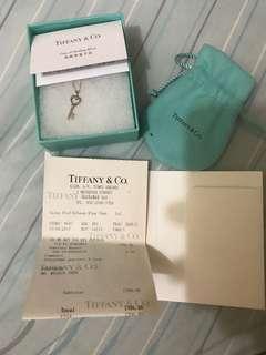 Tiffany 心形鑰匙項鏈