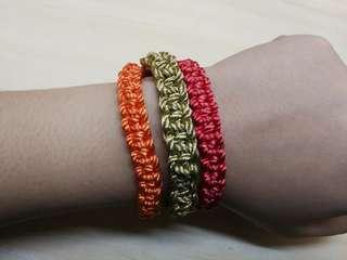 Three Braids Friendship Bracelet