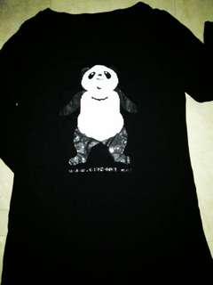 Black Panda Blouse