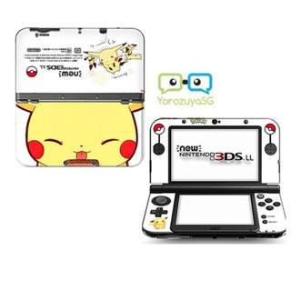 Pikachu Decal Skin for New Nintendo 3DS XL