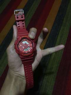 Casio G-shock Ga 110 Reds