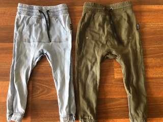Boys size 3 ADAM&YVE pants