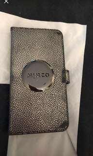 mimco flip case iphone 6/7/8 plus