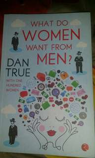 What do women want from men? By Dan True