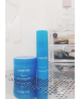 Laneige travel size