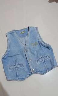 Rompi Mini Jeans