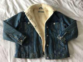 Topshop size 6 denim jacket