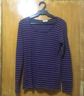 Purple Sweater Shirt