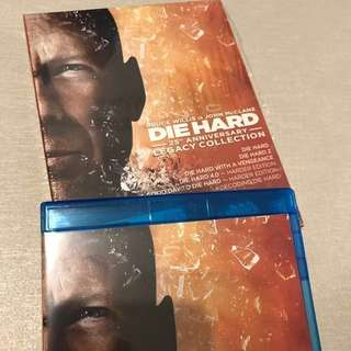 (BEST VERSION) Die Hard 25th Anniversary Legacy Collection  6-discs Blu-ray