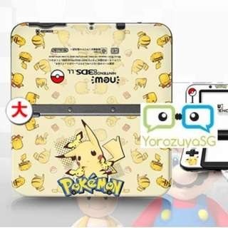 Pokemon Decal Skins for New Nintendo 3DS XL