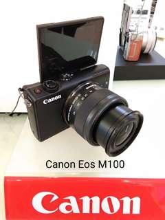 DP 0% Canon Eos M100 Kredit Tanpa Kartu Kredit