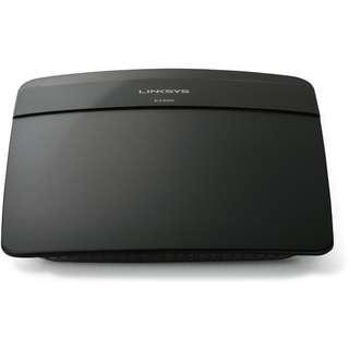 90%新 Linksys E1200 N300 300Mbps Wifi Wireless Router