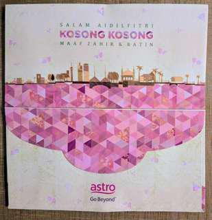 Astro Kosong-kosong Sampul Duit Raya / Raya Packets #postforsbux