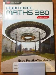 Additional math workbook