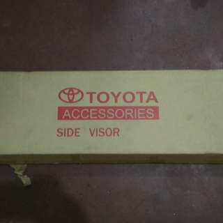 Genuine toyota visor for 2012-2015 model