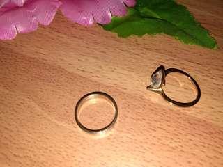 Rosegold Rings Bundle RUSTPROOF