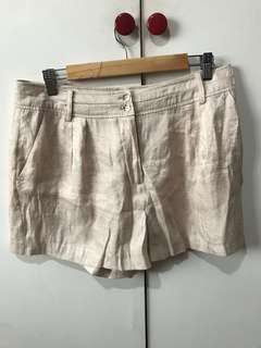 BRAND NEW EVER NEW beige shorts
