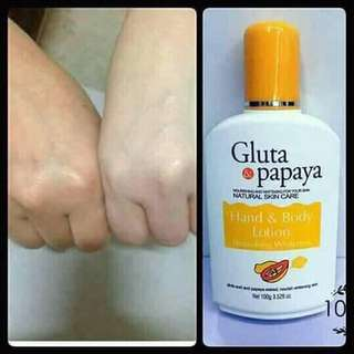 Gluta Papaya Lotion
