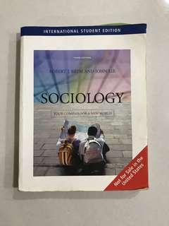 SC1101E Sociology Textbook