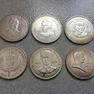 One Peso 1961-1969