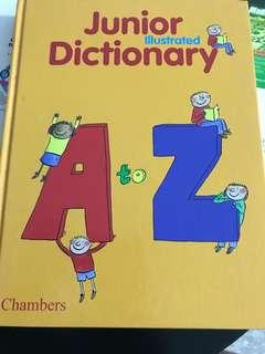 Junior dictionary 300 pgs