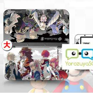 Fire Emblem Decal Skin for New Nintendo 3DS XL