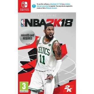 NBA 2k18(Digital version)