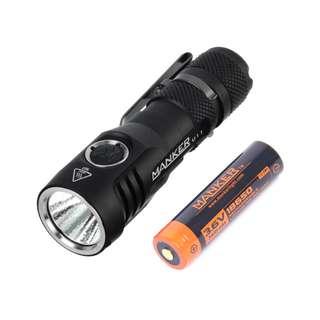 Manker U11 1050 Lumen CREE XP-L LED USB Rechargeable Flashlight