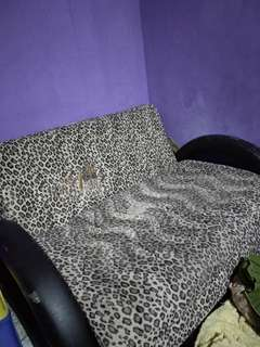 Sofabed 3in1 Motif Leopard