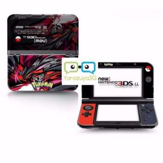 Pokemon X&Y Decal Skin for New Nintendo 3DS XL