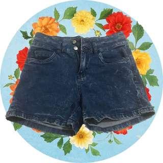 Imported denim shorts high waist size 24-26