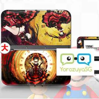 Date A Live Kurumi Decal Skin for New Nintendo 3DS XL Date a live