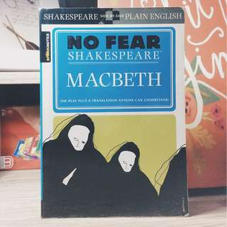 Macbeth (William Shakespeare) (No Fear Shakespeare version)