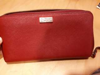 [AUTHENTIC] Kate Spade Red Lacey Wallet
