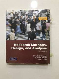 PL2131/PL2132 Research Methods, Design, and Analysis