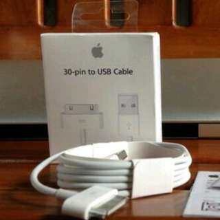KABEL DATA CHARGER IPHONE 4 IPAD 2,3 Ori