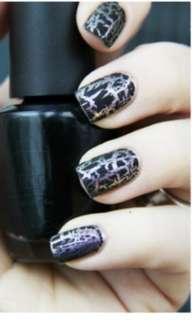 PL OPI shatter nail polish