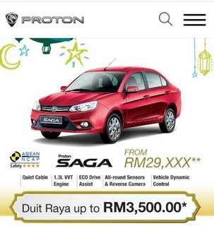 New Proton Saga Offer