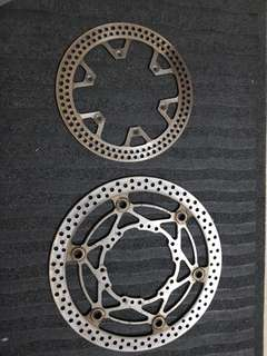 SUZUKI DRZ400SM FRONT/REAR BRAKE DISC