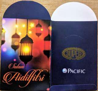 Pacific 2018 Sampul Duit Raya / Raya Packets