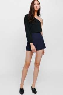 Lovebonito Shelna shorts in navy blue