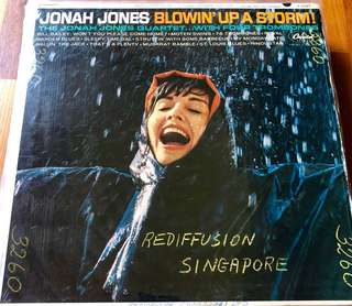 Vinyl Record, 12-inch, May or may not have fine scratches but PLAYABLE. Collect at Hougang Ave 7 or Telok Ayer MRT only.