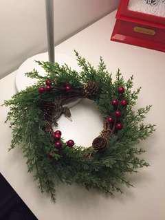 Christmas Pine Berries Wreath 15 cm in diameter
