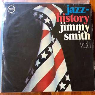 Jimmy Smith Vinyl Record, 12-inch, May or may not have fine scratches but PLAYABLE. Collect at Hougang Ave 7 or Telok Ayer MRT only.